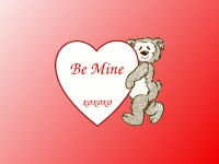 valentine bear wallpaper